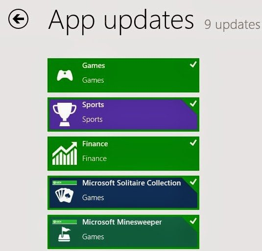 install app updates windows 8 نسخة مجانية لتجربة Windows 8.1