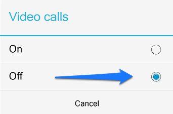 444 كيف تمنع الاخرين من الاتصال بك بـ مكالمة فيديو عبر الفايبر