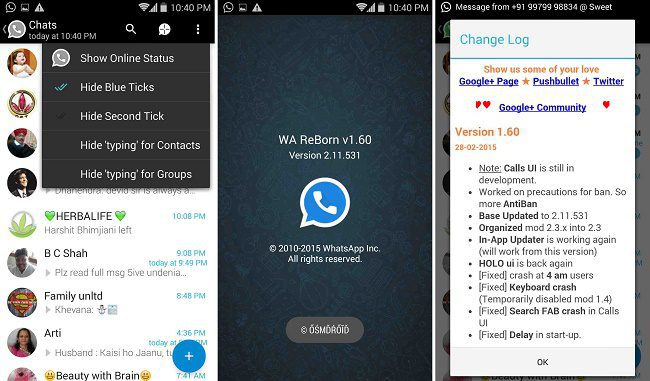 WhatsApp ReBorn 1.60