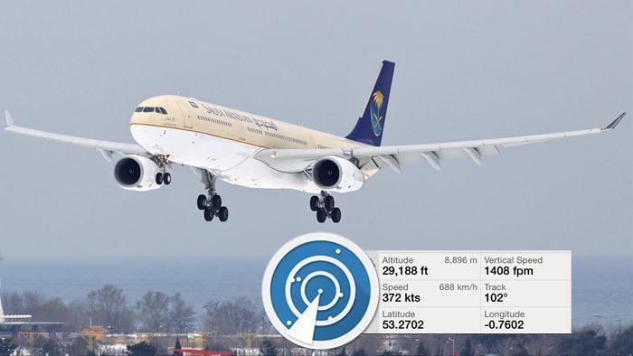 تطبيق Flightradar24 لتتبع رحلات