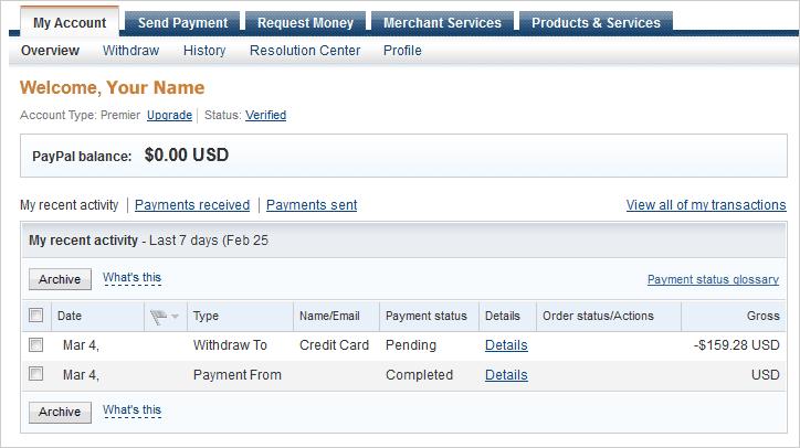 طريقة تفعيل حساب Paypal وكيفية سحب النقود من الـ Paypal الى بطاقة Visa المسبقة الدفع عربي تك