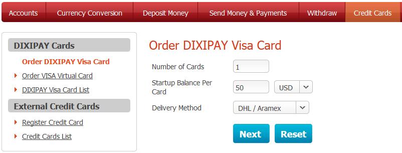 order-dixipay-visacard