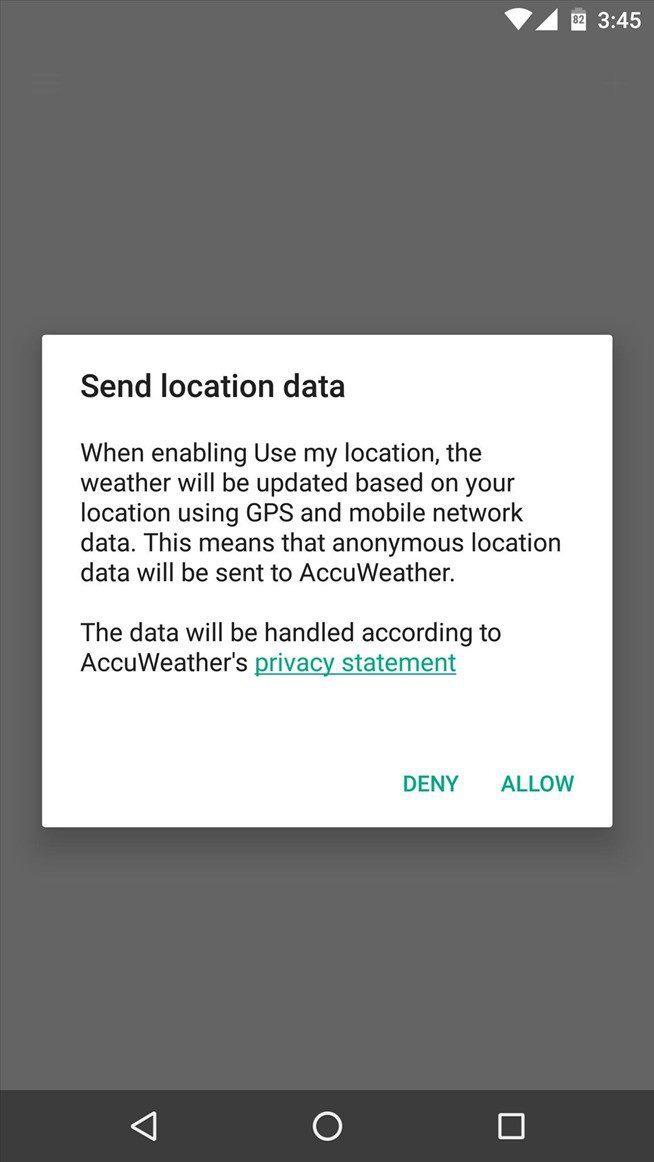 تطبيق سوني للطقس