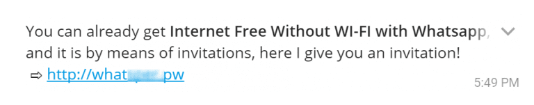 1 whatsapp free internet خدعة اخرى على واتساب لاستخدام التطبيق بدون Wi Fi!!
