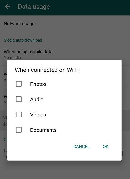 No Media2 تعطيل عملية حفظ الواتساب التلقائي للصور والفيديو على الهاتف