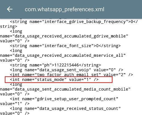 Screenshot 20170302 154216 كيف تتحكم في خصوصية الحالة على الواتساب؟ وكيف تعمل على تعطيلها بالكامل ؟