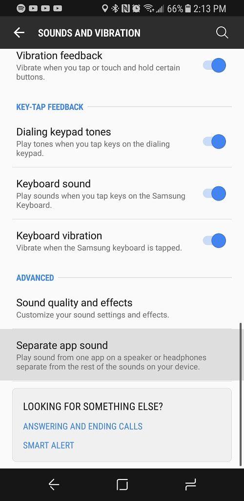 Separate App Sound2