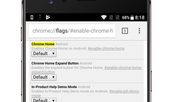 Chrome Home جوجل تعمل على اعادة تصميم متصفحها اندرويد يمكنك السبق بتجربته الان