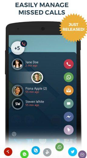 drupe 3 افضل تطبيق للتواصل السريع مع جهات الاتصال على الموبايل