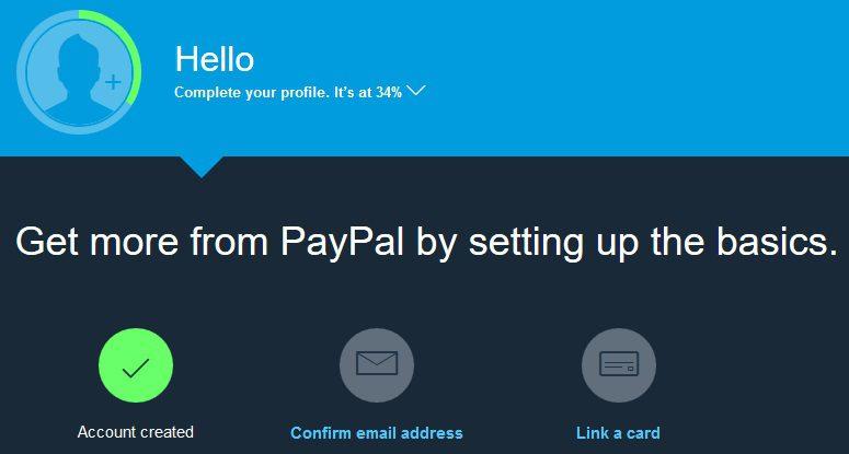 7 دليلك الشامل لعمل حساب باي بال PayPal للمعاملات المالية عبر الانترنت – مصر