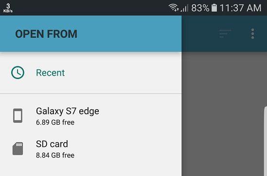 Screenshot 20170604 113731 min كيفية نقل الصور والفيديوهات الى ذاكرة الموبايل الخارجية تلقائيا