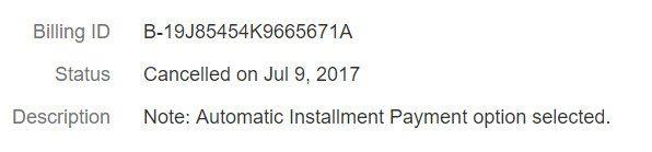 2017 07 09 230024 طريقة الغاء الاذن المسبق باقتطاع القسط تلقائيا من حسابك على الباي بال