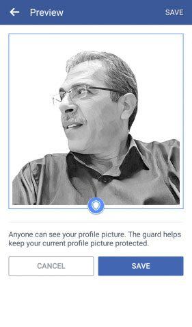 Profile Picture Guard 2 1 كيف تمنعهم من تحميل صورتك الشخصية من الفيسبوك او مشاركتها؟