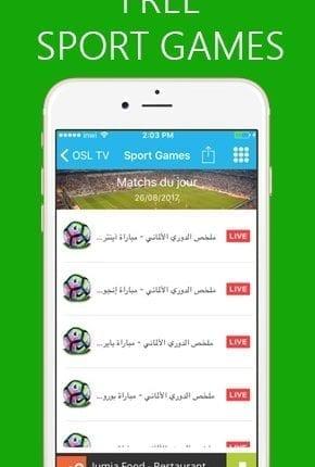تطبيق OSL TV لمشاهده القنوات المشفره و المفتوحه و احدث الافلام3
