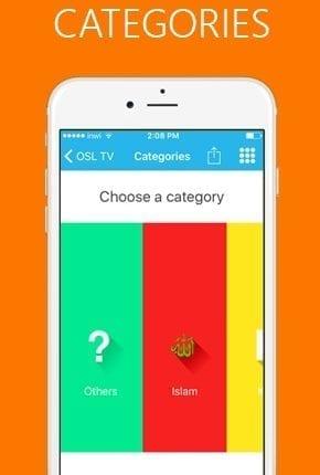 تطبيق OSL TV لمشاهده القنوات المشفره و المفتوحه و احدث الافلام5