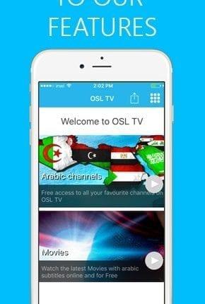 تطبيق OSL TV لمشاهده القنوات المشفره و المفتوحه و احدث الافلام6