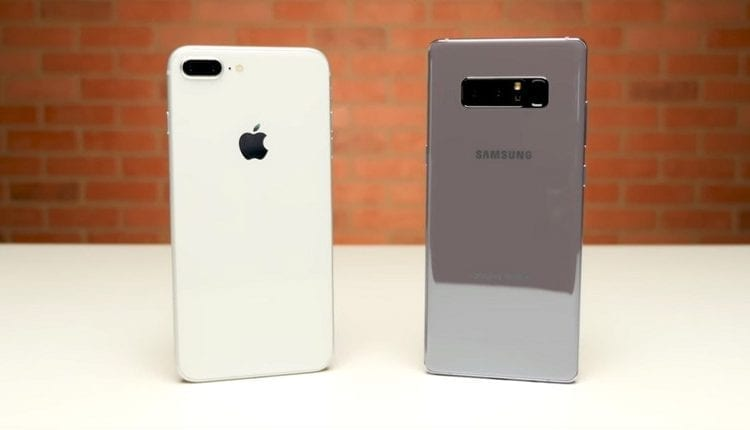 ايهما اسرع Galaxy Note 8 ام iPhone 8 Plus