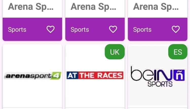 تطبيق UK TVNow لمشاهدة قنوات بي ان سبورت الرياضية و القنوات الاجنبية العالمية