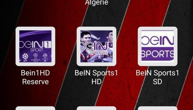 افضل خمس تطبيقات لمشاهدة قنوات بين سبورت و متابعة المباريات بدون تقطيع :