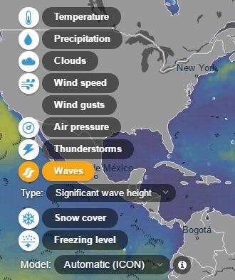 2 4 - حصريا تعرف على هذا الموقع الجديد الذي يمكنك من معرفة احوال الطقس و العواصف في اي منطقة من العالم - مميز جدا