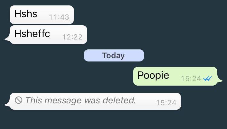 كيف تحذف رسالة واتساب Delete For Everyone بعد مرور 7 دقائق