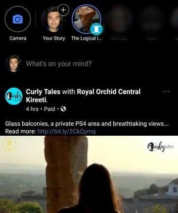 Dark Facebook 1 360x430 - تحميل تطبيق الفيسبوك والماسنجر باللون الاسود Dark Facebook