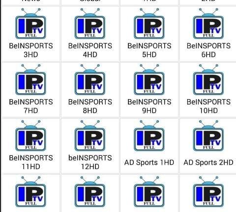 تطبيق Full IPTV احدث تطبيق لمشاهدة جميع القنوات المشفرة الرياضية و الترفيهية العربية و الاجنبية بالمجان