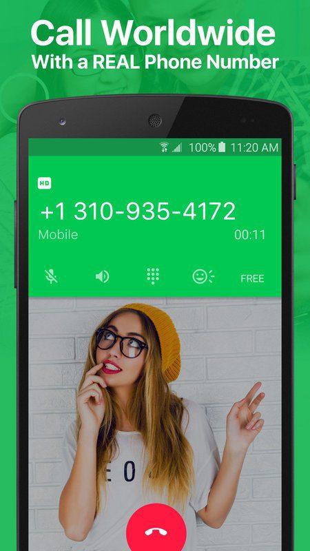 screen 1 1 - أحصل الآن على رقم أمريكي يمكنك الإتصال به بالمجان و للأبد عبر هذا التطبيق الرائع!