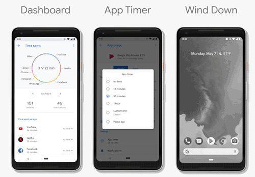 ندرويد الجديد Android P يأتي بواجهة مشابهة لايفون