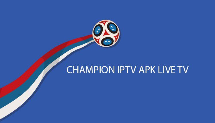 CHAMPION IPTV