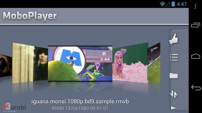 تطبيقات تشغيل فيديو للأندرويد