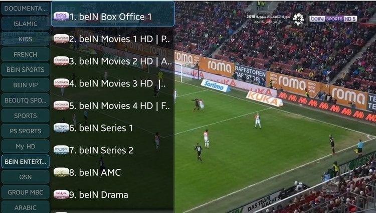 2018 08 03 164242 750x424 - Delux IPTV اضخم تطبيق IPTV لمتابعة البث الحي لمئات القنوات