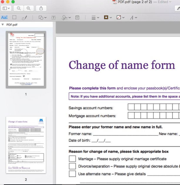 how to rearrange pdf pages adobe