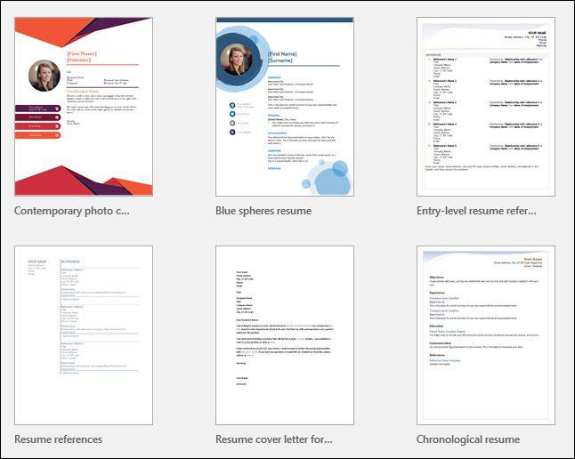 كيفية إنشاء السيرة الذاتية المهنية على Microsoft Word