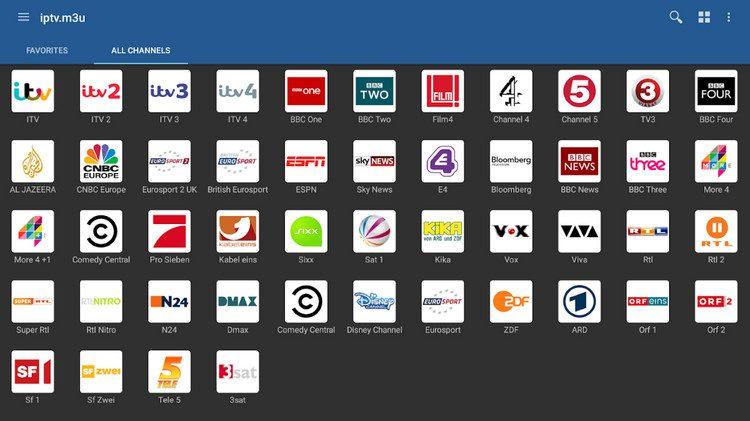ملف M3U بتاريخ اليوم 19 يناير لمتابعة القنوات الرياضية IPTV