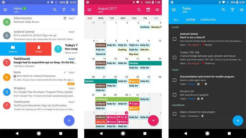 تطبيقات لأكثر من شركة و منصة لإدارة البريد الإلكترونى Nine-screenshot-2018
