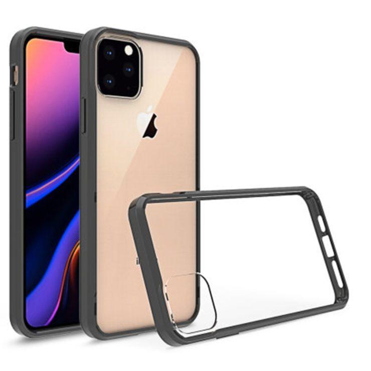 غطاء هاتف ايفون 11 ماكس من Olixar يعرض كاميرا خلفية ثلاثية والواجهة الأمامية لم تتغير