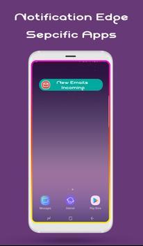 تطبيق Edge Lighting لإضاءة حواف الشاشة عند إستقبال إشعارات للرسائل أو المكالمات