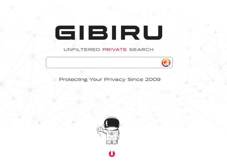 محرك بحث ويب GIBIRU