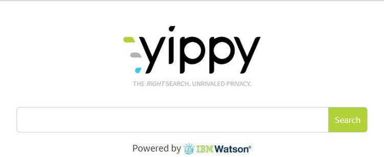 محرك بحث Yippy