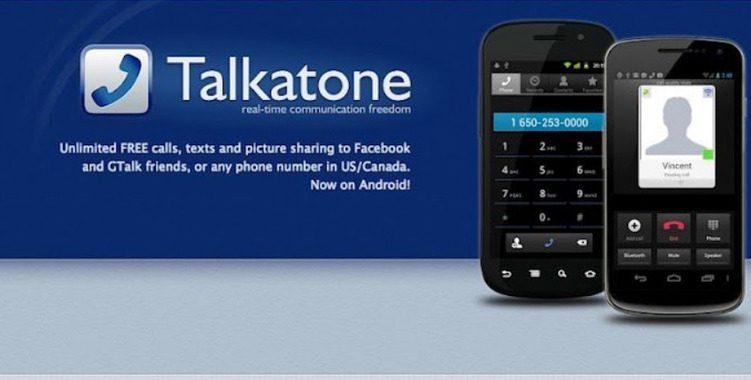 تحميل تطبيق Talkatoneللحصول على رقم امريكي ولاجراء المكالمات المجانية