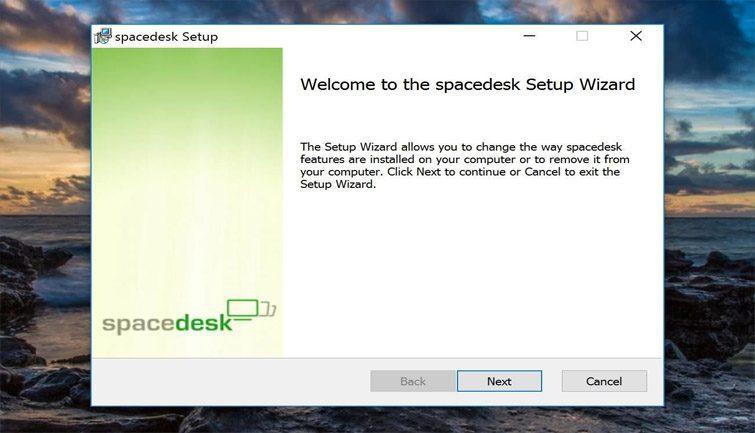 تثبيت البرنامج على الحاسوب