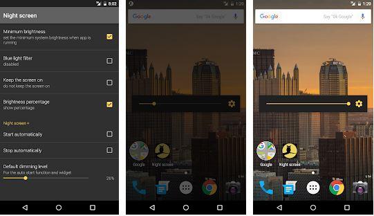 تطبيق Night Screen