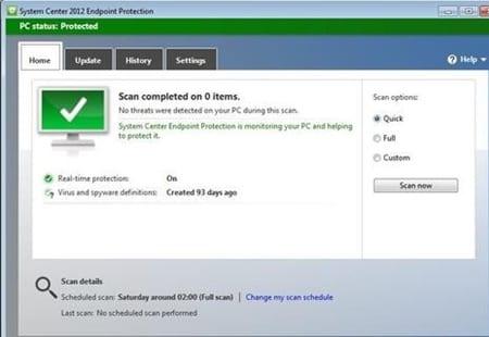 استخدام برامج فحص الفيروسات