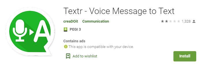 تحميل تطبيق Textr