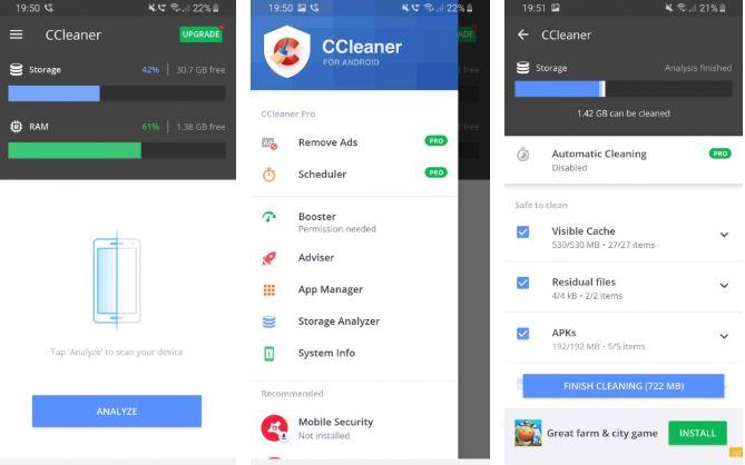 تطبيق CCleaner