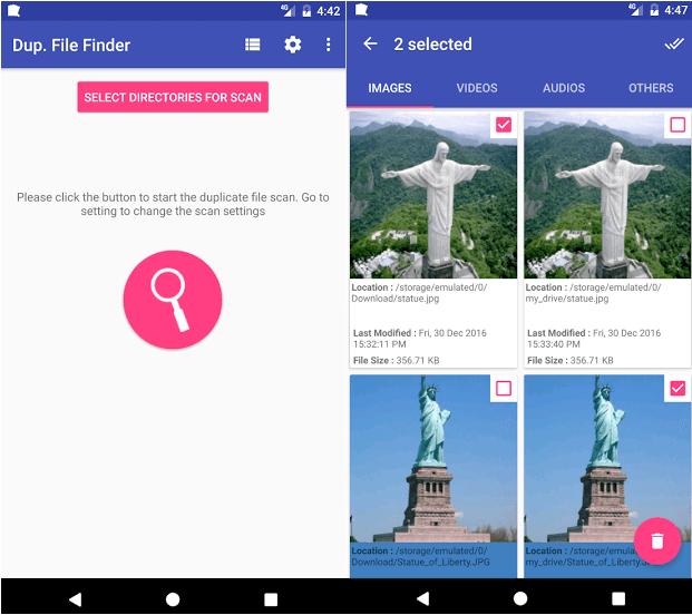 تطبيق Duplicate File Finder Remover