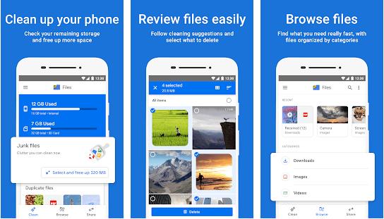 تطبيق Files By Google