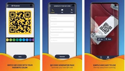 تطبيق QR & Barcode Scanner