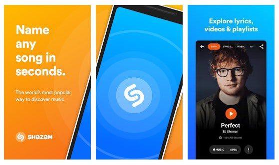 تطبيق Shazam